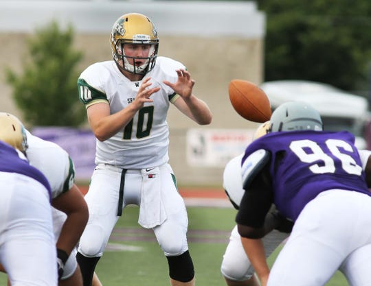 A multi-sport standout, Ryan Pepiot played quarterback for Westfield's football team.