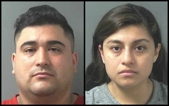 Luis Posso, 32, and Dayana Medina-Flores, 25, have been charged with murder after a 12-year-old boy died.