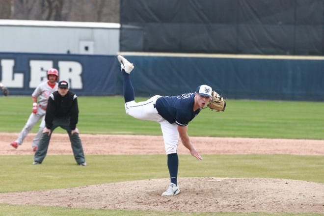 Butler pitcher Ryan Pepiot is among the nation's leaders in strikeouts.