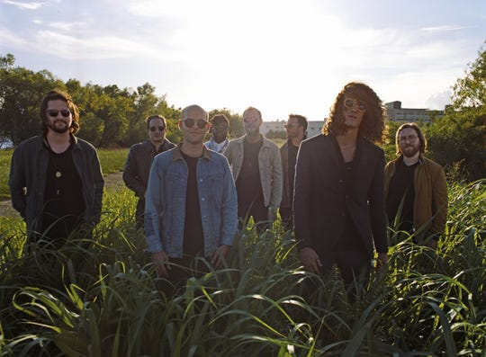 The Revivalists headline the first night of the Cathead Jam in downtown Jackson this evening.