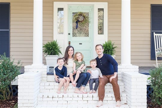 Abby and Paul Helms, with their three children - Silas, Ollie, and Lewis - will be moving to France later this summer to do long-term mission work in Paris.