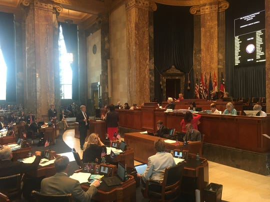 The Louisiana Senate passed on Thursday in a 35-2 vote a $30 billion state operating budget for next year.