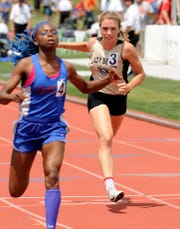 River View's Kelsey Hartsock competed in the 100 during last year's state meet. The junior headlines athletes who will miss out on another season of vital growth.