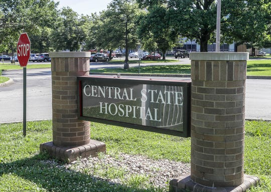 Central State Hospital.May 31, 2019