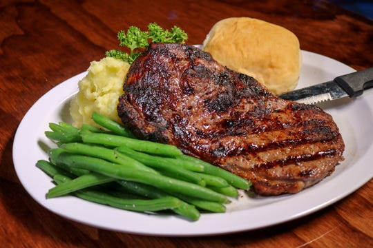 A 10-ounce ribeye will be on the menu at the new Beale Street restaurant and bar Atomic Rose.