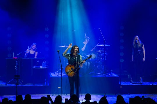 Hozier performs at a sold out Eagles Ballroom at the Rave on May 30, 2019.