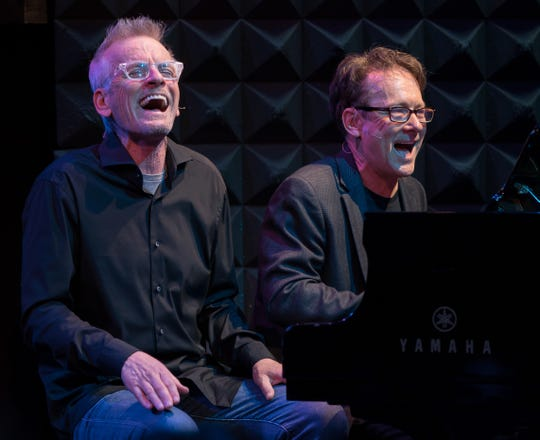 "Rob Paulsen and Randy Rogel, who wrote many of the songs for ""Animaniacs"", star in ""Animaniacs in Concert."""