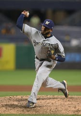Jeremy Jeffress posted a 3.82 ERA  before the all-star break, but had problems in the second half of the season.