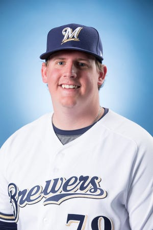 Brewers prospect Trey Supak came within one out of throwing a no-hitter for Class AA Biloxi on Thursday night