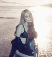 Kim Petras sings June 8 at Milwaukee's PrideFest.