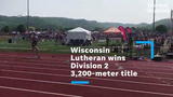 Wisconsin Lutheran won the first running event of the day at the WIAA track and field state meet at UW-La Crosse's Memorial Stadium.
