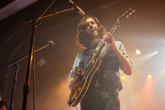 Hozier performs at a sold-out Eagles Ballroom at the Rave on Thursday, May 30, 2019.