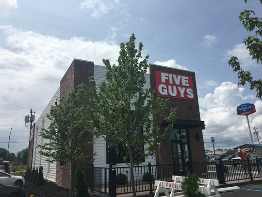Muncie's Five Guys along Bethel Avenue had signage up and appeared nearly ready to open as of Friday, May 31, 2019.