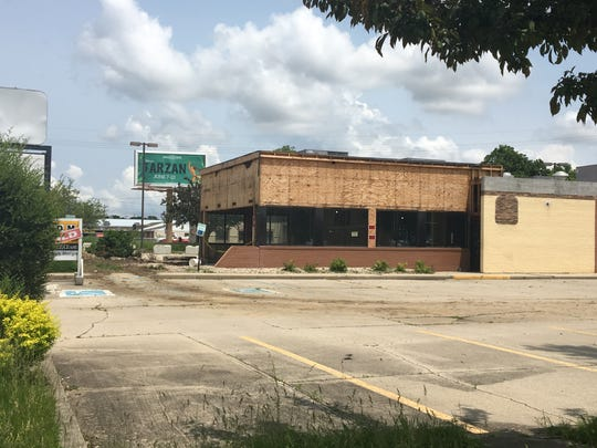 The site that is set to hold Muncie's Dunkin' along Tillotson Avenue as of Friday, May 31, 2019.