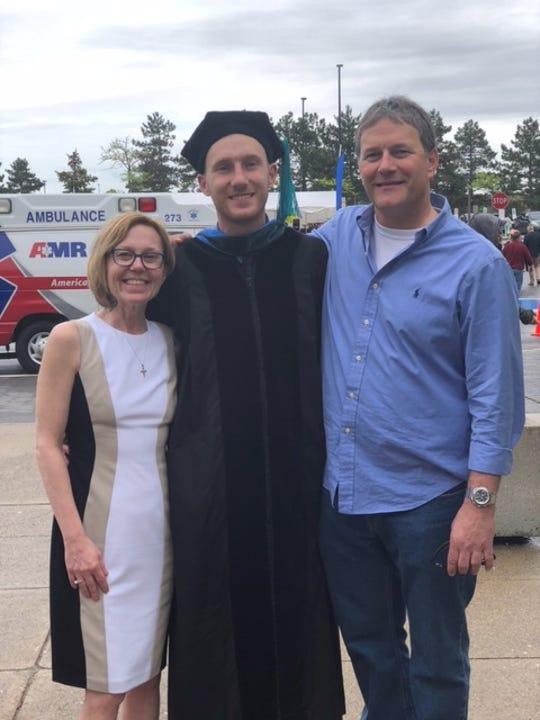 Heidi, Brady and Brian Gaulke