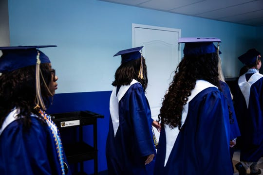 Nineteen students graduated from Mason Classical Academy on Friday, May 31, 2019 at the school in Naples.