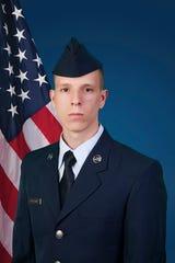 Airman 1st Class Carlos D. Vorachek.