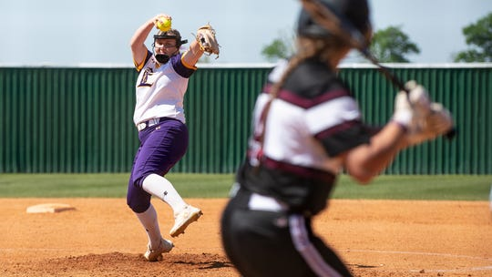 Heather Zumo, LSUE softball