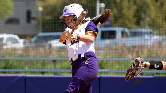 Kelci Bodin, the 2019 NJCAA Division II National Tournament MVP, is one of three LSU Eunice softball team members chosen for the NJCAA All-American softball team. Bodin was named to the second team.