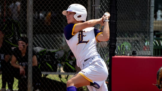 LSU Eunice softball's Sara Tate was named to the NJCAA All-American softball team. She is one of three LSUE players to earn all-American accolades.