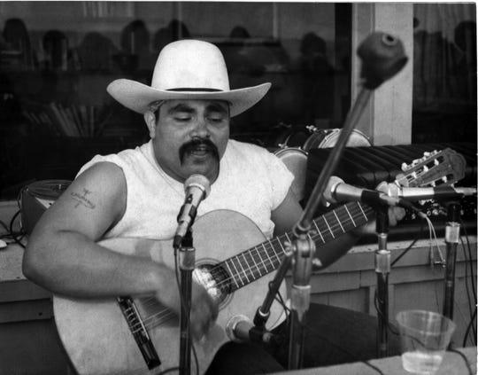 Ramon Sanchez performing around 1974.