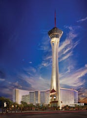 The Stratosphere Hotel and Casino in Las Vegas.