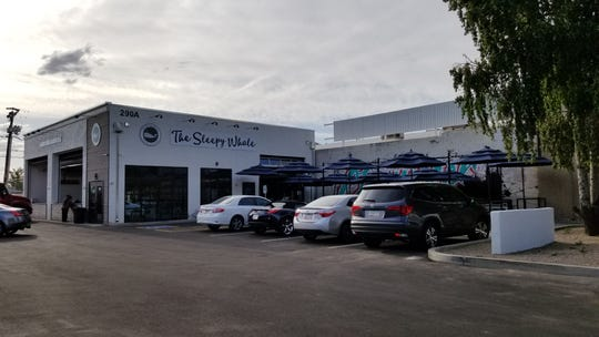 The Sleepy Whale opened at the site of a former automotive shop on Arizona Avenue.
