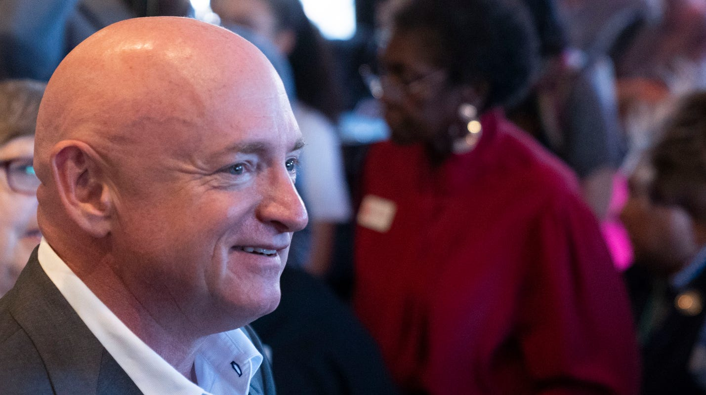 Here's what ex-astronaut, Senate candidate Mark Kelly is worth