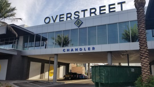 Overstreet Chandler, a mixed-use development with office, restaurant and entertainment space, opened on Arizona Avenue in December 2018.