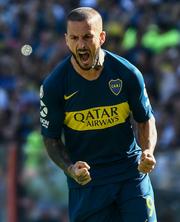 Darío Benedetto, jugador de Boca Juniors.