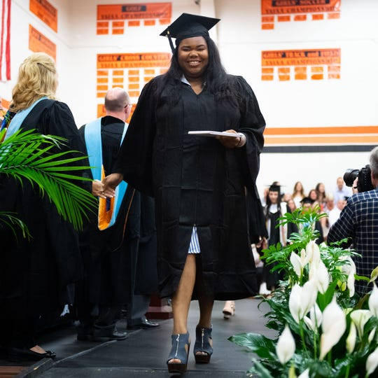 York Suburban High School celebrates graduation, Thursday, May 30, 2019.