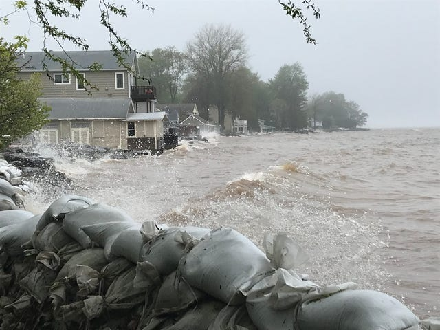Residents dealing with record water levels along Lake Ontario