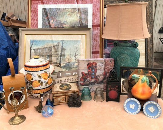 Just some of the items you'll find at the Deepwood Garage Sale fundraiser on June 8.