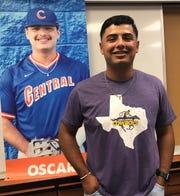 San Angelo Central's Oscar Nino will continue his baseball career at Hardin-Simmons University.