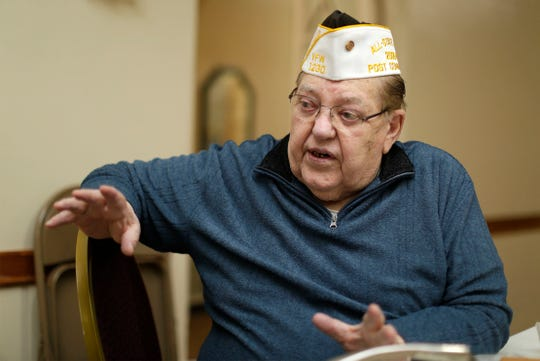 VFW Wolf-Olson Post 1230 Commander Jerry Wenninger talks to USA TODAY NETWORK-Wisconsin why VFW Post 1230 is closing, Thursday, May 30, 2019, in Sheboygan, Wis.