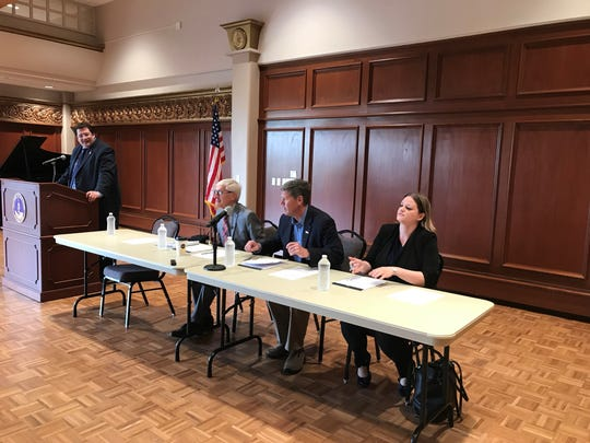 Gov. Tony Evers, U.S. Rep. Ron Kind (D-La Crosse) and State Rep. Katrina Shankland (D-Stevens Point) held a town hall about health care in Wisconsin and the Medicaid expansion the governor wants on Friday at the University of Wisconsin-Stevens Point.