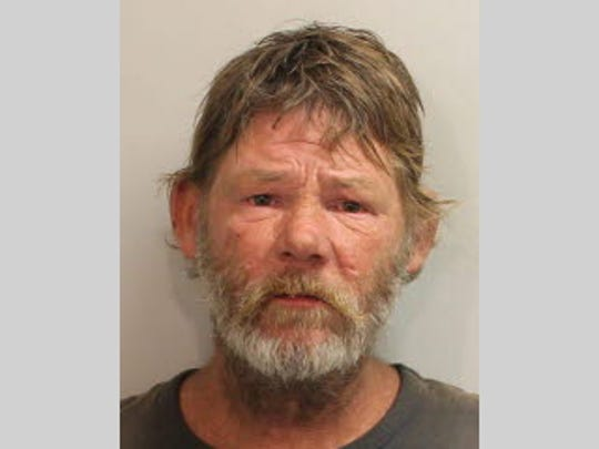 Phillip March was arrested for trespassing in the Target on Tennessee Street Wednesday afternoon while riding a Publix motorized shopping cart with another man and smoking cigarettes throughout the store, according to local police.