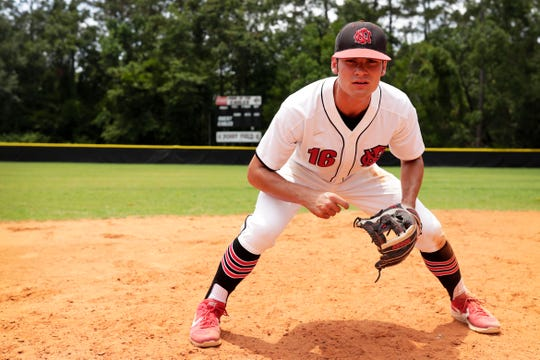 North Florida Christian senior Josiah Miller was named the 2019 All-Big Bend Player of the Year in baseball after leading the area in home runs (11) and RBI (39). Miller, an FSU signee, also hit .418, scored 35 runs, and hit eight doubles as the Eagles went 22-7 and reached the Class 3A state tournament.