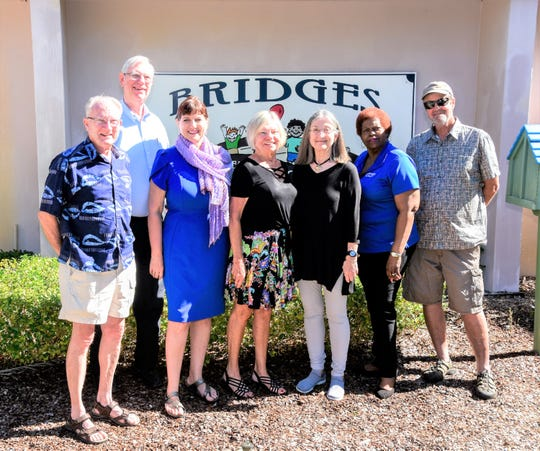 Summer Art at the Emerson Committee and Fine Arts & Craft Show artists, from left, Al Parmentier, Steve Becker, Laura Matson, Dawn Orre, Ginger Heller, Brenda Neely and Mike Duflo.