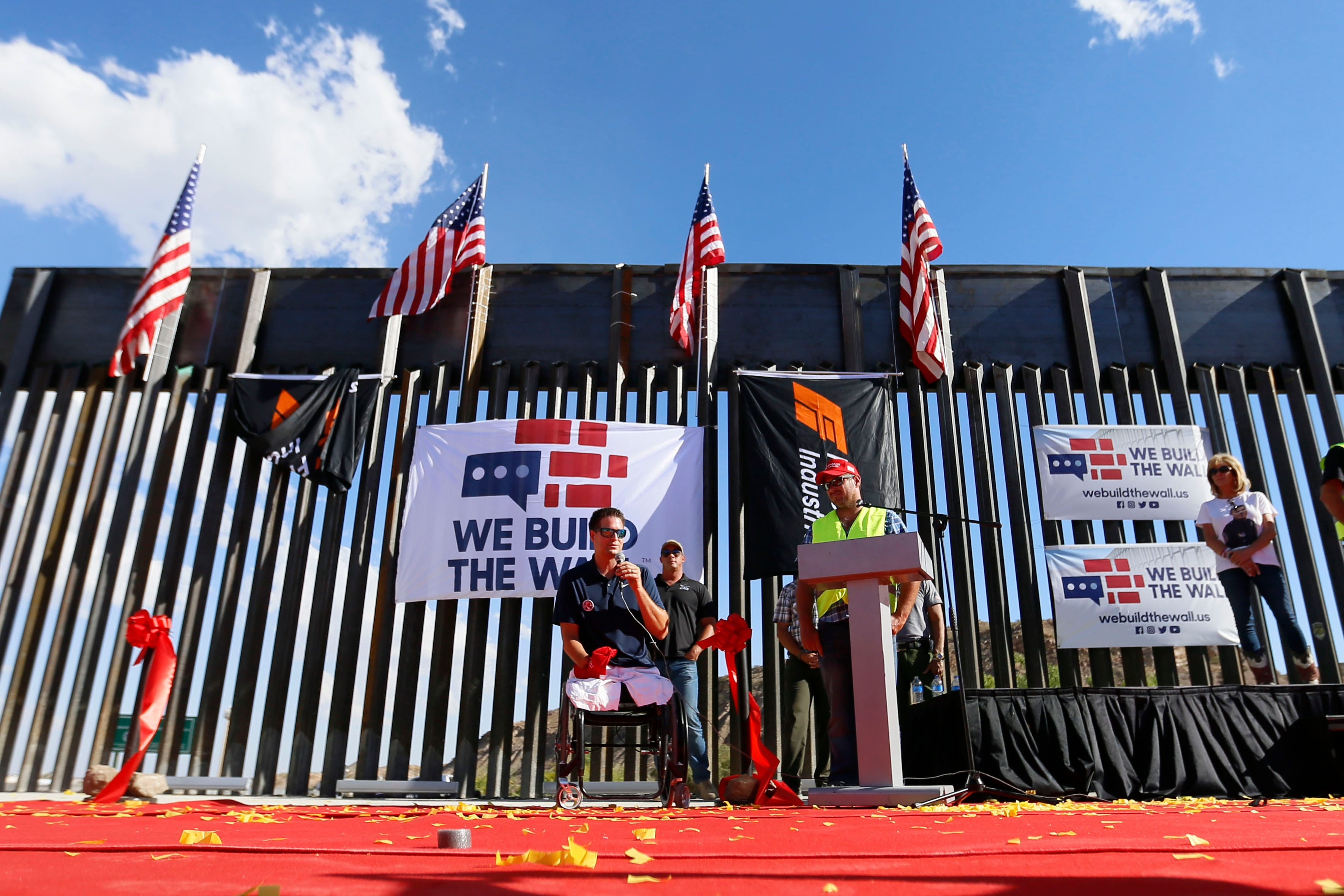 We Build the Wall founder talks about donations