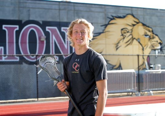 "Cade Rogers had a dominant junior season for Oaks Christian. ""He's got a very unique blend of what you want in a lacrosse player,"" says head coach Jeremy Sieverts said. ""He has skill and finesse."""