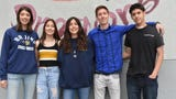 The Bova quintuplets graduate from Foothill Technology High School on June 13.
