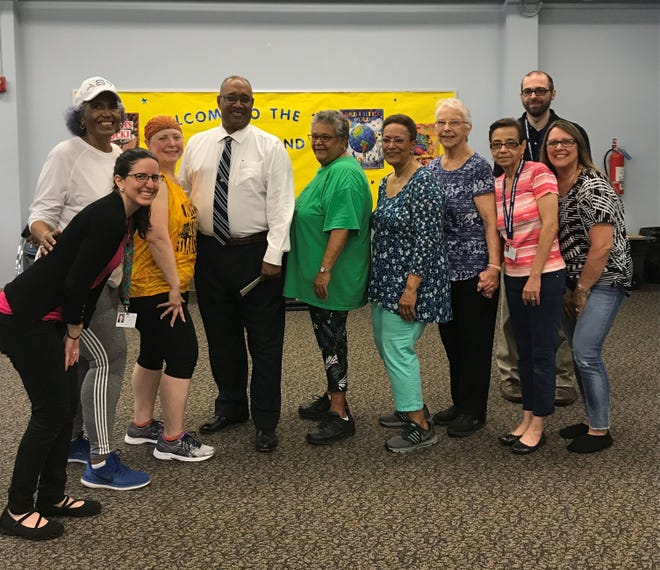 Cumberland County Library in Bridgeton held its first Zumba Gold for Seniors on May 31. Everyone who attended the class, led by certified instructor Jenni Schmidt-Spiker, started their day with a great workout. Cumberland County Freeholder Jack Surrency also checked out the new program. For information on library programs, call (856) 453-2210 or visit www.cclnj.org.
