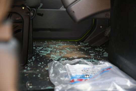 FoodLink for Tulare County had to cancel deliveries after two of its trucks were damaged in a Tuesday night break-in.