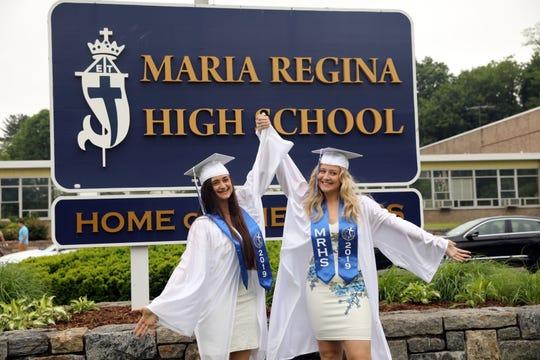 Maria Regina High School graduation May 30, 2019 in Hartsdale.
