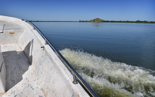 On Lake Wichita Friday morning. Saturday is Free Fishing Day and anglers across Texas can fish on any public body of water without having a fishing license on June 1st.
