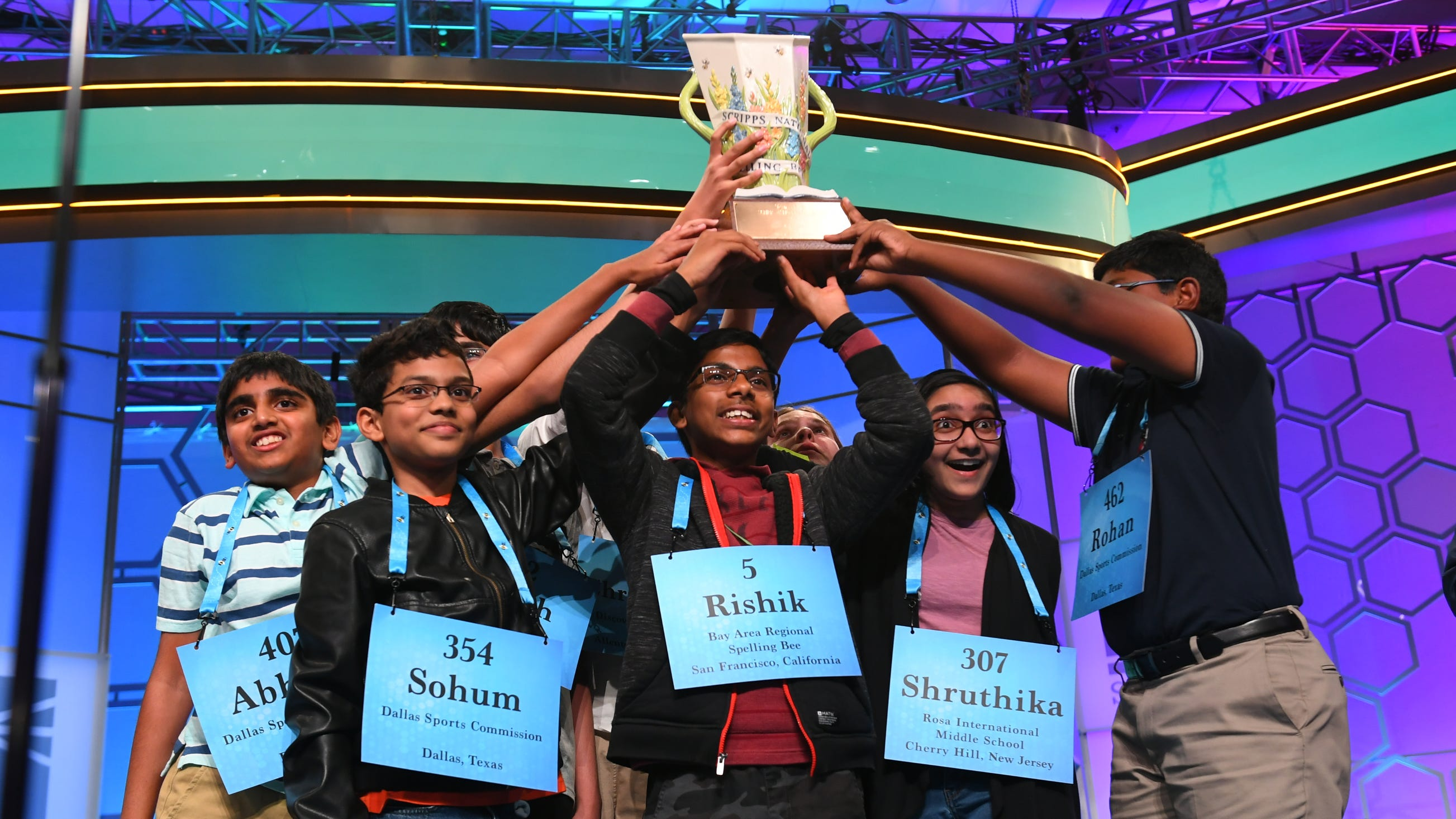 Scripps National Spelling Bee Word List 2019 2020.Scripps Bee 2019 Eight Named Scripps Bee Co Champions
