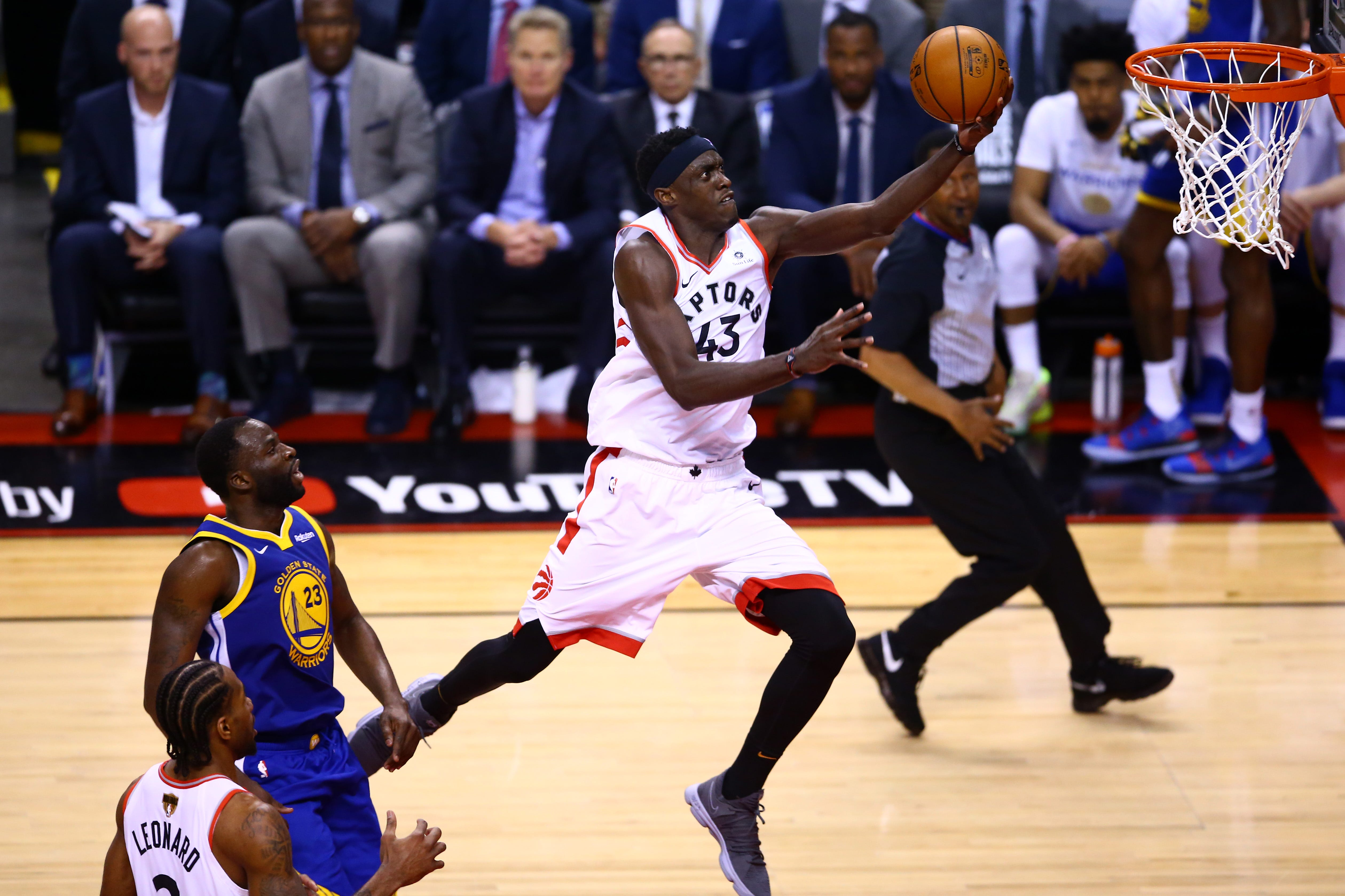Pascal Siakam's big night leads Raptors past Warriors in Game 1 of NBA Finals