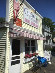 A Manchester favorite, Dusty's Ice Cream often has a line on hot days.
