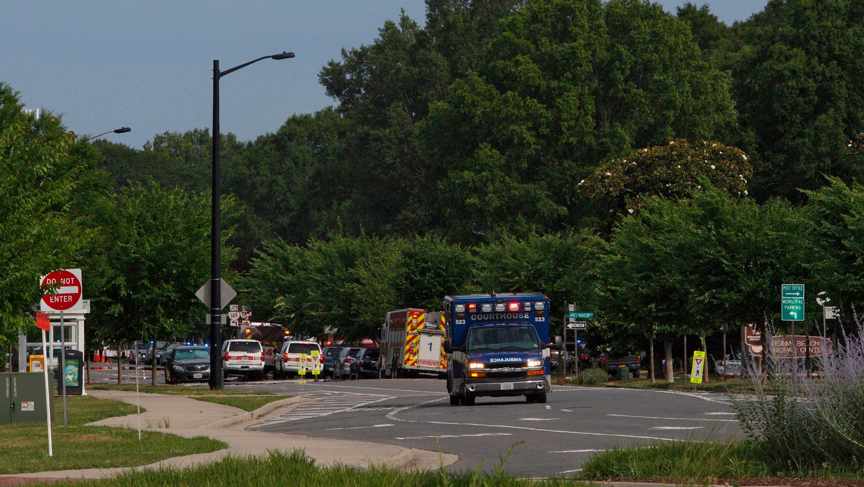 Virginia Beach shooting: 12 people killed, 4 injured, gunman dead